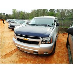 2012 CHEVROLET TAHOE POLICE UTILITY, VIN/SN:1GNLC2E06CR312324 - V8 ENGINE, A/T, ODOMETER READING 230