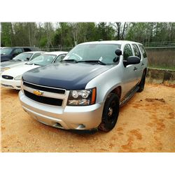 2013 CHEVROLET TAHOE, VIN/SN:1GNLC2E04DR256031 - V-8, A/T (STATE OWNED)