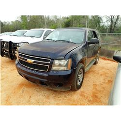 2007 CHEVROLET TAHOE VIN/SN:1GNFK03077R369578 - V-8 ENGINE, A/T (STATE OWNED)