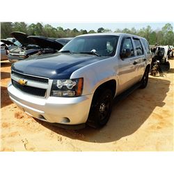 2013 CHEVROLET TAHOE SUV, VIN/SN:1GNLC2E05DR360897 - V8 ENGINE, A/T (STATE OWNED) (DOES NOT OPERATE)