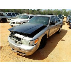 2010 FORD POLICE INTERCEPTOR, VIN/SN:2FABP7BV6AX106600 - V8 ENGINE, A/T (STATE OWNED) (DOES NOT OPER
