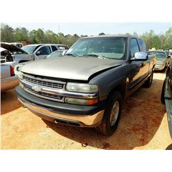 1999 CHEVROLET PICK UP PICK UP, VIN/SN:1GCEK19T1XE115755 - V8 ENGINE, A/T (STATE OWNED) (DOES NOT OP