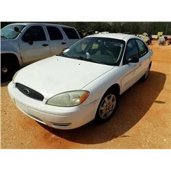 2005 TAURUS SE VIN/SN:1FAFP53U05A260875 - V-6 ENGINE, A/T (DOES NOT OPERATE) (STATE OWNED) (D-1)