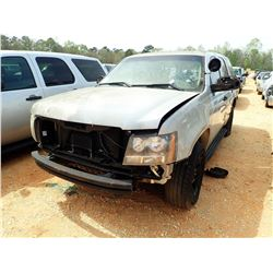 2007 CHEVROLET POLICE TAHOE, VIN/SN:1GNEC03037R346825 - V8, A/T (DOES NOT OPERATE) (STATE OWNED)