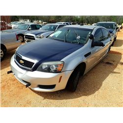 2012 CHEVROLET POLICE PATROL, VIN/SN:6G1MK5R2XCL669887 - V8 ENGINE, A/T (DOES NOT OPERATE) (STATE OW