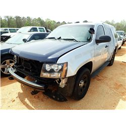 2012 CHEVROLET POLICE INTERCEPTOR, VIN/SN:1GNLC2E07CR312333 - V-8 ENGINE, A/T (DOES NOT OPERATE) (ST