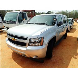 2013 CHEVROLET TAHOE VIN/SN:1GNLC2E03DR256747 - V-8 ENGINE, A/T (DOES NOT OPERATE) (STATE OWNED)