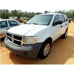 2008 DODGE DURANGO VIN/SN:1D8HB38N18F156248 - V-9 ENGINE, A/T (DOES NOT OPERATE) (STATE OWNED)