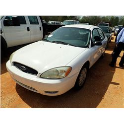 2005 FORD TAURUS VIN/SN:1FAFP53U55A260869 - V-6 ENGINE, A/T (DOES NOT OPERATE) (STATE OWNED) (D-1)