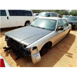 2008 FORD CROWN VICTORIA POLICE INTERCEPTOR, VIN/SN:2FAHP71VX8X159600 - V8, AUTO (DOES NOT OPERATE)