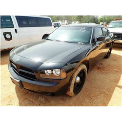 2010 DODGE CHARGER VIN/SN:2B3AA4CT9AH117508 - V8, AUTO (DOES NOT OPERATE) (STATE OWNED) (D-1)