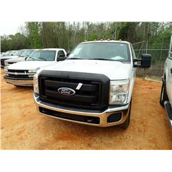 2013 FORD F250 PICKUP, VIN/SN:1FT7W2A62DEA83273 - CREW CAB, V8 GAS ENGINE, A/T, ODOMETER READING 194