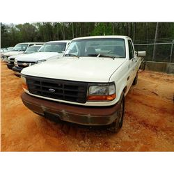 1996 FORD F250 PICKUP, VIN/SN:ZFTEF25N4TCA71218 - GAS ENGINE, A/T, ODOMETER READING 271,037 MILES(CO
