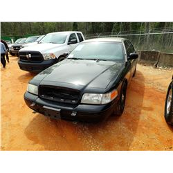 2010 FORD CROWN VICTORIA VIN/SN:2FABP7BV8AX106629 - GAS ENGINE, A/T, ODOMETER READING 188,250 MILES