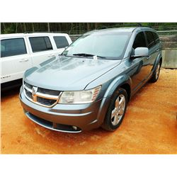 2010 DODGE JOURNEY VIN/SN:3D4PG5FVXAT117070 - GAS ENGINE, A/T, ODOMETER READING 98,482 MILES