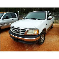1999 FORD F150 VIN/SN:1FTZX1729XNA81612 - EXT CAB, GAS, A/T