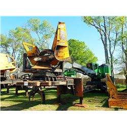 JOHN DEERE 437E LOG LOADER, VIN/SN:292970 - CAB, A/C, CSI 264 ULTRA DELIMBER, MTD ON BIG JOHN TRAILE