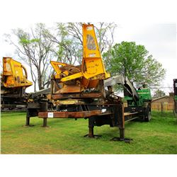 2014 JOHN DEERE 437D LOG LOADER, VIN/SN:255219 - CAB, A/C, CSI 246 ULTRA DELIMBER, MTD ON PITTS TRAI