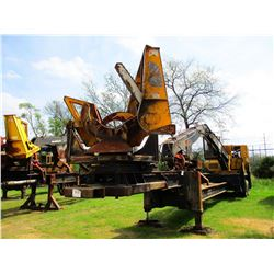 2013 CAT 559C LOG LOADER, VIN/SN:KAS00255 - CAB, A/C, CSI 264 ULTRA DELIMBER, MTD ON BIG JOHN TRAILE