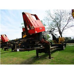 CAT 559B DS LOG LOADER, VIN/SN:PR65405 - CAB, A/C, CTR426 DELIMBER, MTD ON PITTS TRAILER S/N:130664,