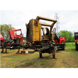 PRENTICE 2384B LOG LOADER, VIN/SN:63792 - CAB, A/C, MTD ON TRAILER, RILEY DELIMBER, METER READING 12