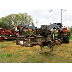 PRENTICE 210E LOG LOADER, VIN/SN:54158 - CAB, A/C, MTD ON BIG JOHN TRAILER, METER READING 7,969 HOUR