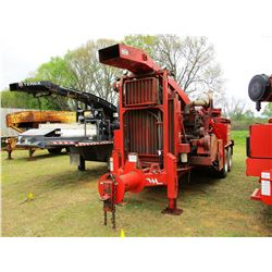 2015 MORBARK 30/36 DRUM CHIPPER, VIN/SN:466-1262 -