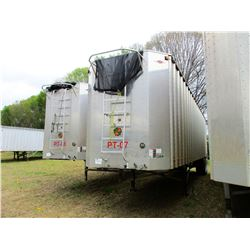 2015 ITI SDS-42 CHIP TRAILER; VIN/SN:1Z92A4222FT199034 -T/A, 42' LENGTH, OPEN TOP, FULL GATE, 11R24.