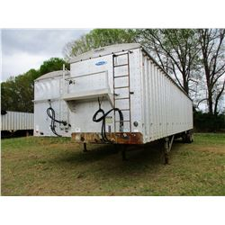 1996 PEERLESS CHIP TRAILER, VIN/SN:1PLE04520TPC20924 - T/A, 40', CLOSED TOP, FULL GATE, 11R24.5 TIRE