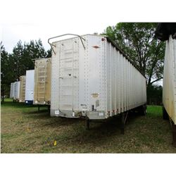 2000 ITI SDS42 CHIP TRAILER, VIN/SN:1Z92A4221YT029041 - T/A, CLOSED TOP, FULL GATE, 11R24.5 TIRES