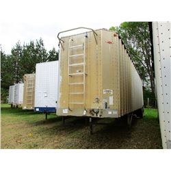 2000 ITI SDS42 CHIP TRAILER, VIN/SN:1Z92A4229YT029160 - T/A, OPEN TOP, FULL GATE, 11R24.5 TIRES
