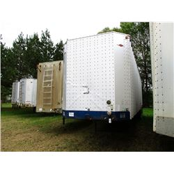 2000 ITI IWS-40 CHIP TRAILER, VIN/SN:1Z92E4022YT029430 - T/A, 40' LENGTH, CLOSED TOP, HALF GATE, 11R