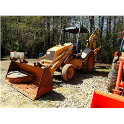 FORD 555E LOADER BACKHOE - BUCKET, CANOPY (EXTRA BUCKET INCLUDED)