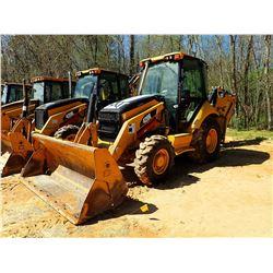 2008 CAT 420E LOADER BACKHOE, VIN/SN:HLS05433 - E STICK, CAB, A/C, METER READING 6,918 HOURS (COUNTY