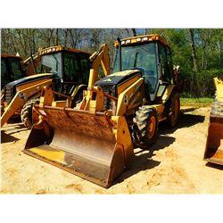 2001 CAT 420D LOADER BACKHOE, VIN/SN:FDP02478 - 4X4, MP BUCKET, FORKS, E-STICK, CAB, A/C, METER READ