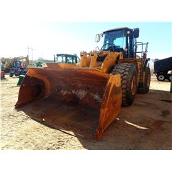 2002 CAT 980G SERIES II WHEEL LOADER, VIN/SN:AWH00239 - BUCKET, RIDE CONTROL, CAB, A/C, 29.5R25 TIRE