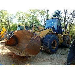 2008 CAT 972H WHEEL LOADER, VIN/SN:A7D00651 - BUCKET, RIDE CONTROL, CAB, A/C, 26.5R25 TIRES, METER R