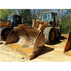 2008 CAT 972H WHEEL LOADER, VIN/SN:A7D01019 - BUCKET, CAB, A/C, METER READING 15,775 HOURS