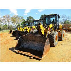 2015 CAT 930K WHEEL LOADER, VIN/SN:RHN03878 - COUPLER, BUCKET, AUX HYD, FORKS, RIDE CONTROL, CAB, A/