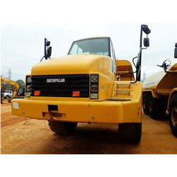 2007 CAT 740 WATER WAGON, VIN/SN:B1P01606 - HEC HH8KS WATER TANK, REAR DISCHARGE, CAB, A/C, 29.5R25