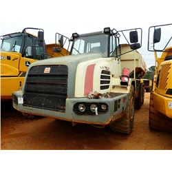 2007 TEREX TA-30 ARTICULATED DUMP, VIN/SN:A8941620 - CAB, A/C, 23.5R25 TIRES, METER READING 2,432 HO