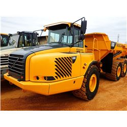 2003 VOLVO A30D ARTICULATED DUMP, VIN/SN:10559 - TAILGATE, CAB, A/C, 750/65R25 TIRES, METER READING