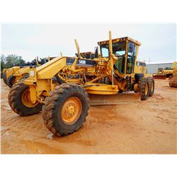2007 CAT 140H NA MOTOR GRADER, VIN/SN:APM03287 - 14' MOLDBOARD, SCARFIER, CAB, A/C, 14.00-24 TIRES,