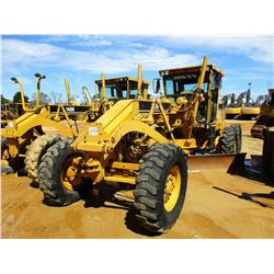 2001 CAT 140H MOTOR GRADER, VIN/SN:2ZK07016 - 14' MOLDBOARD, SCARFIER, CAB, A/C, 14.00-24 TIRES (COU