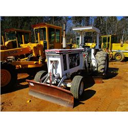 HUBER M850A MAINTAINER, VIN/SN:02UEM0948 - FRONT BLADE, 10' MB, CANOPY, 23.1-26 REAR TIRES, METER RE