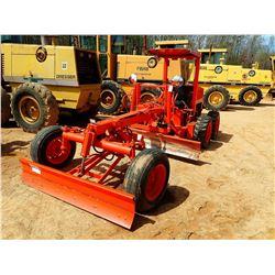 MODEL 801 MOTOR GRADER, VIN/SN:770850 - 7' MOLDBOARD, SCARIFIER, DIESEL ENGINE, BLADE, CANOPY
