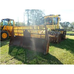 """2012 BOMAG 772 RB COMPACTOR, VIN/SN:101572345001080 - FRONT STEEL COMPACTION WHEELS, 52"""" WIDE, REAR"""