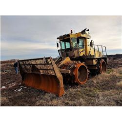 BOMAG BC772RB LANDFILL COMPACTOR, VIN/SN:581151 - LANDFILL BLADE, PADFOOT, CAB, A/C, (BAD SPLITTER B