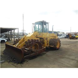 1999 CATERPILLAR 815F COMPACTOR, VIN/SN:1GN00664 - BLADE, CAC, A/C, METER READING 4,595 HOURS (COUNT