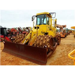 CATERPILLAR 815B COMPACTOR, VIN/SN:17X00698 - BLADE, CAB, METER READING 7,080 HOURS (COUNTY OWNED)